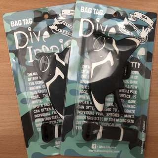 DiveInspire Bag Tags - Matty
