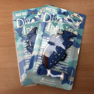 DiveInspire Bag Tags - William Whale Shark
