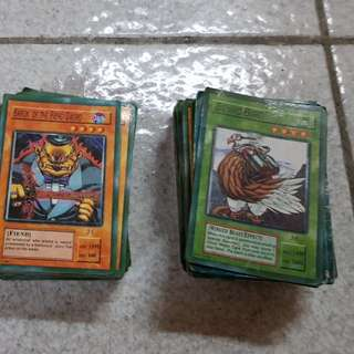 Yugioh and Duel Masters Card Game repriced