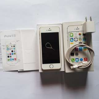Iphone 5s Gold 16GB Negotiable
