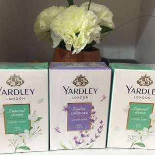 Authentic Yardley Soap