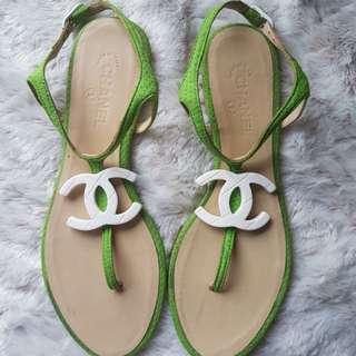 Chane CC Thong Strap Sandal