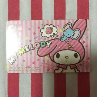 Limited Edition Sanrio Melody Ezlink Card