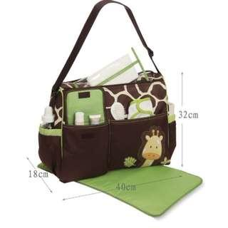 Diaper Bag / Nappy Bag /  Mummy Bag  [ pre-order 16-30 days ]