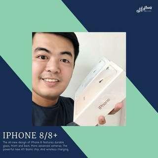 Brandnew Iphone 8 / 8+ 1 Year Apple Warranty