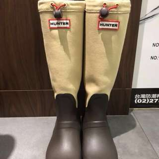 HUNTER hunter rain boots Original Tour Canvas original tour canvas (water-repellent canvas) rubber boots NYO (HUW25518 SS14)雨靴