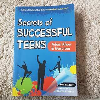 2nd hand book - Secrets of Successful Teens