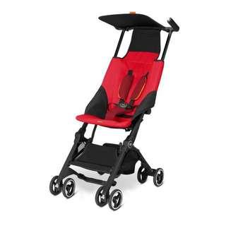 GB Pockit Stroller (Red)