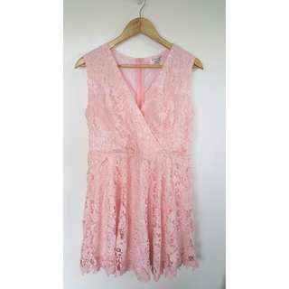 BNWT Amy Lynn Pink Cocktail Dress XL
