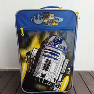 Almost New American Tourister Star Wars R2D2 cabin luggage