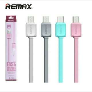 NEW CHARGER REMAX ANDROID SAMSUNG OPPO VIVO KABEL CASAN