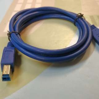 Usb 3.0 A  AM to B BM 1.5 Printer Cable 打印機 數據線 高速