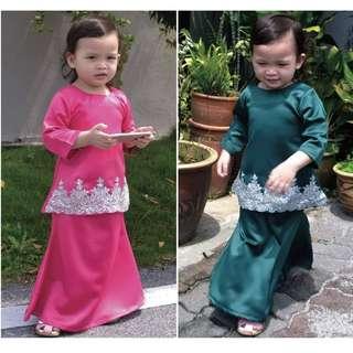 Baju Kurung Kids Budak