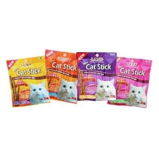 Bow Wow Mini Stick Cat Treat 20g, 3packs