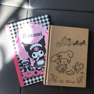 Sanrio - Melody & Kuromi notebook
