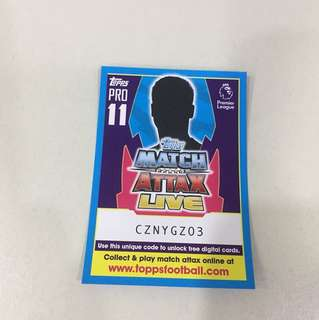 Match Attax codes