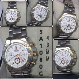 Jam tangan pria branded original SWISS ARMY