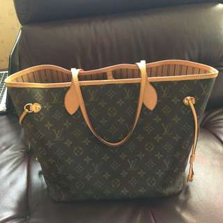 LV Louis Vuitton Neverfull MM 中size