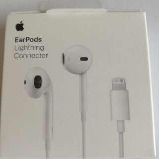 正品Apple iPhone 7 8 X原廠耳機 Lightning EarPods可接可聽暢通無阻 支援IOS 11版