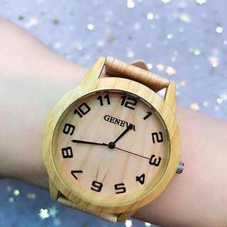 Geneva Wooden Watch