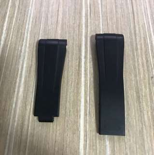 Rubber B strap for 40mm Rolex watches