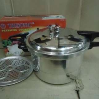 Presto 12 LIter Ukuran besar pressure cooker trisonic