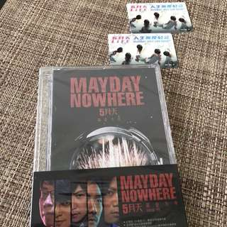MAYDAY Nowhere DVD & EZlink cards