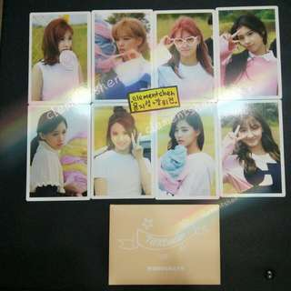 Twice TT Twicecoaster Lane:1 Monograph Photocard