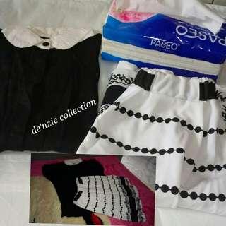 Setelan rok dan baju