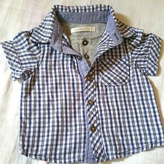 Preloved Baby Checkered Polo