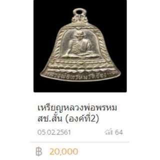 Luang Pho (LP) Phrom, Wat Chong Kae
