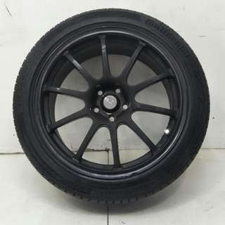 17 '' Sport Rim With Tyre 5x100 (SR899)