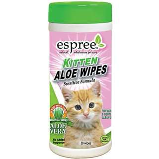Espree Kitten Aloe Wipes 50pcs
