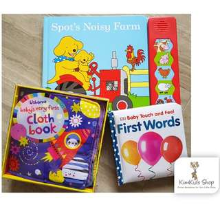 Books set - Suitable for 0-1 year old