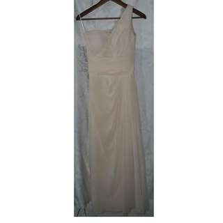 REPRICED!! Gown -- Champagne color