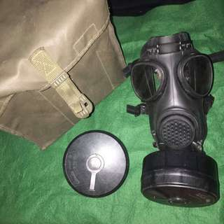 M15 military gas mask