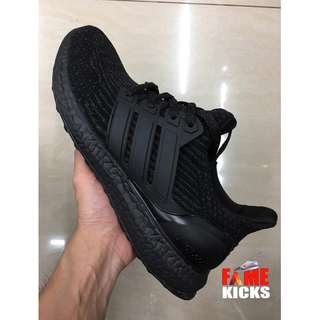 Adidas Ultra Boost for Men and Women Unisex OEM Premium Authentic Shoes (Black)