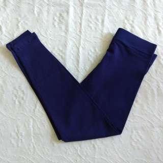 YD Navy Blue Leggings for Girls