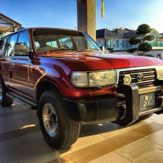 Toyota Land Cruiser 4.2 Ninja