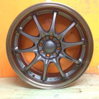 16 inch SPORT RIM VOLK RACING CE28 10SPOKE 2TONE RACING WHEELS