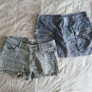 CNYsale Skirt & Shorts Set