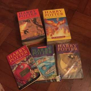 Harry Potter (English version) 1-5