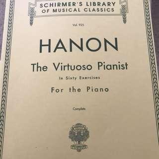 Hanon the virtuoso pianist