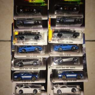Hot wheels Fast Furious FnF Garage hotwheels