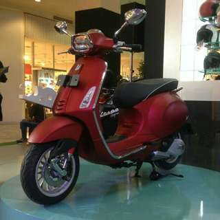 PIAGGIO VESPA SPRINT 150 IGET 2018 RED MATT CASH KREDIT