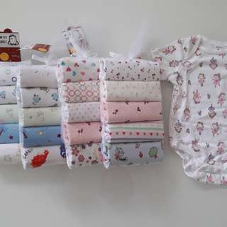 cotton romper gift set of 5 pcs