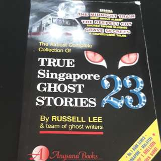 Singapore true ghost story book 23
