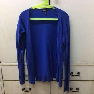 Mango Blue Cardigan