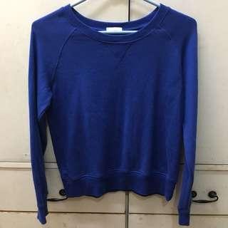 GU Blue Sweater
