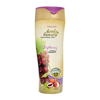 Herbs & Beauty Hand & Body Lotion 250ml